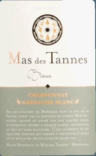 Mas de Tannes Classique Blanc Bio 2018 - Domaine Paul Mas von Domaine Paul Mas
