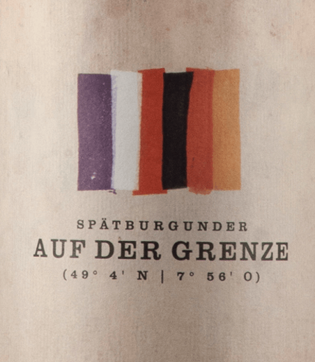 Auf der Grenze Spätburgunder 2016 - Bernhart von Bernhart