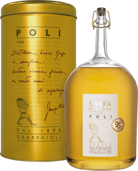Sarpa Oro di Poli Grappa 3,0 l Big Mama in GP - Jacopo Poli