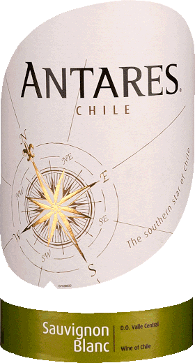 Antares Sauvignon blanc Central Valley DO 2020 - Santa Carolina von Santa Carolina