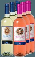6er Vorteilspaket - Bianco e Rosa - 6 frische Brezza Sommerweine von Lungarotti