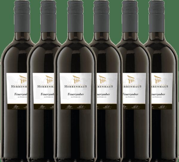 6-pack - Red Mulled Wine Herrenhaus Feuerzauber 1,0 l - Lergenmüller