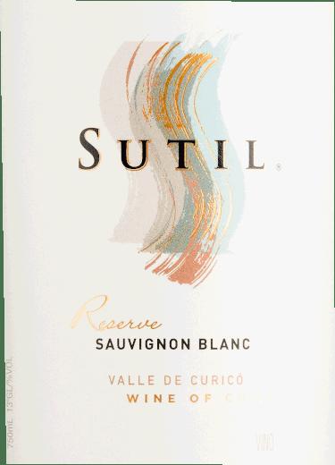 Sauvignon Blanc Reserve Valle de Curico 2019 - Sutil Family Wines von Sutil Family Wines