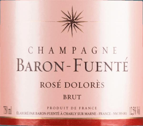 Rosé Dolorès Brut - Champagne Baron-Fuenté von Champagne Baron-Fuenté
