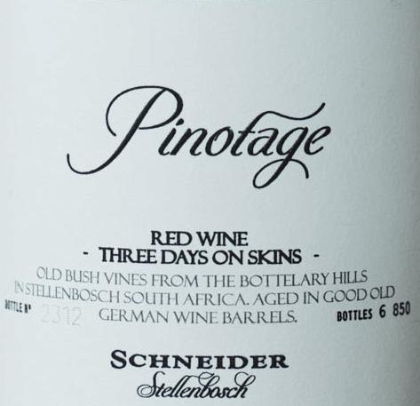 Three Days on Skins Pinotage 2018 - Markus Schneider von Weingut Markus Schneider