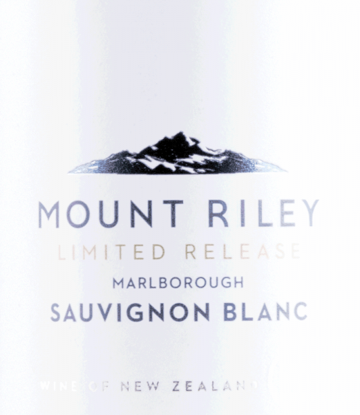 Sauvignon Blanc Limited Release 2019 - Mount Riley von Mount Riley
