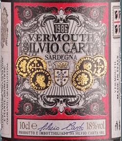 Vermouth Rosso 0,1 l - Silvio Carta von Silvio Carta