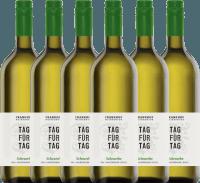 6er Vorteils-Weinpaket - Tag für Tag Scheurebe halbtrocken 1,0 l 2019 - Frankhof Weinkontor