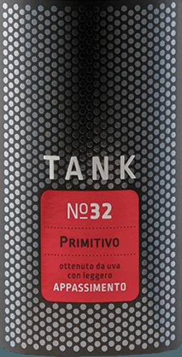 TANK No 32 Primitivo Appassimento 2019 - Cantine Minini von Cantine Minini