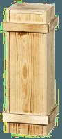 wooden box for MAGNUM BOTTLE with sliding lid