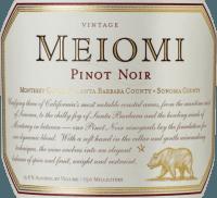 Vorschau: Pinot Noir 2019 - Meiomi Wines