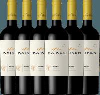 6er Vorteils-Weinpaket - Kaiken Malbec 2018 - Viña Kaiken