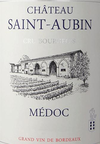 Cru Bourgeois Médoc AOC 2015 - Château Saint Aubin von Château Saint Aubin