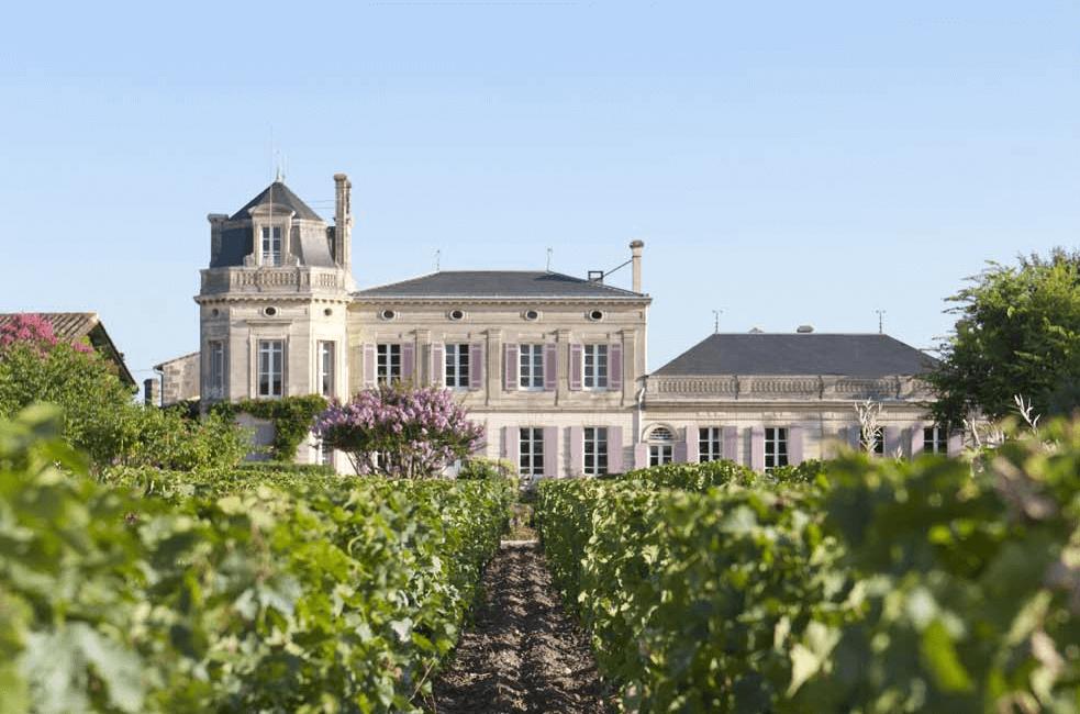 Blick auf das Château