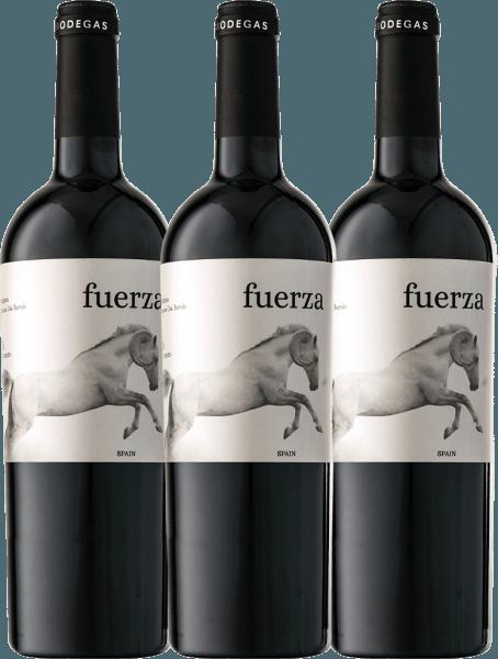 3er Vorteils-Weinpaket - Fuerza Jumilla DO 2017 - Ego Bodegas