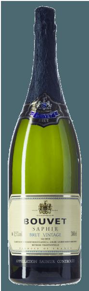 Cremant Saphir Saumur Brut 3,0 l Jeroboam in Holzkiste - Bouvet Ladubay von Bouvet Ladubay