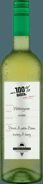 Das ist 100% Baden Weißburgunder 2019 - Erste Markgräfler Winzergenossenschaft