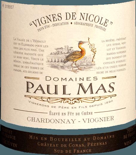 Vignes de Nicole Chardonnay Viognier 2018 - Domaine Paul Mas von Domaine Paul Mas