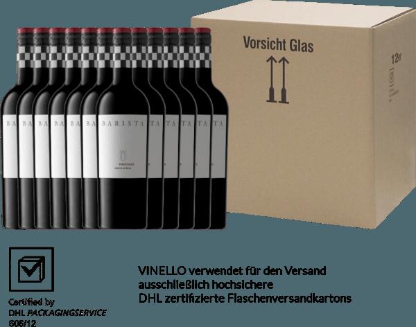12er Vorteils-Weinpaket - Pinotage Western Cape 2019 - Barista von Barista