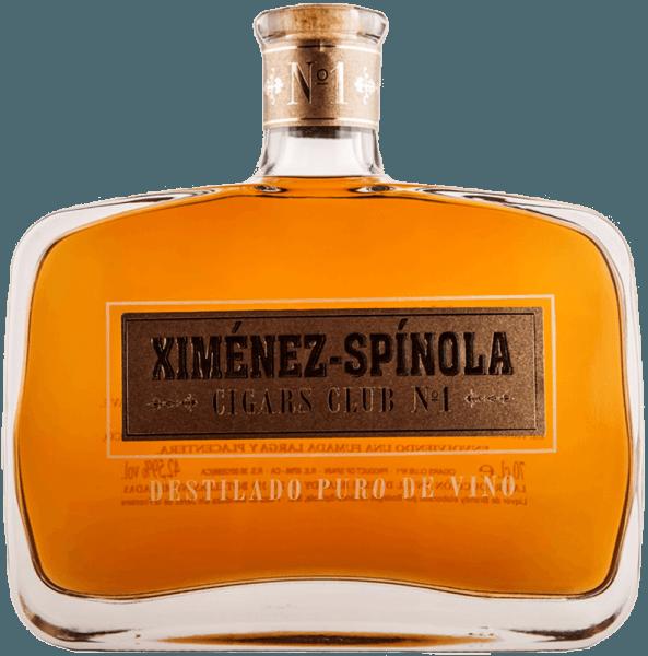 Der Cigars Club No. 1 von Ximénez-Spinola präsentiert sich goldgelb mit bernsteinfarbenen Reflexen im Glas. Dabei entfaltet dieser Brandy seine zarte aromatische Intensität, welche von Rosinen und Feigen getragen wird. Dieser in amerikanischen Eichenfässern gealterte Branntwein verführt mit seinem weichen Eindruck am Gaumen und wird abgerundet durch dezente Holz-und Röstaromen. Zigarrenempfehlungen für den Cigars Club No. 1 von Ximénez-Spinola El Rey Del Mundo Choix Supreme El Rey Del Mundo Demi Tasse Fonseca Nº1 Fonseca Cosacos Fonseca Delicias Fonseca Cadetes Guantanamera Cristales Tubo Guantanamera Compays Guantanamera Décimos Guantanamera Puritos Hoyo De Monterrey Epicure Especial Hoyo De Monterrey Epicure Nº1 Hoyo De Monterrey Petit Robustos Hoyo De Monterrey Double Coronas Hoyo De Monterrey Dex Dieux Hoyo De Monterrey Coronations Tubo Hoyo De Mointerrey Du Prince Hoyo De Monterrey Depute Hoyo De Monterrey Du Maire Rafael González Petit Coronas Rafael González Perlas Rafael González Panetelas Extra