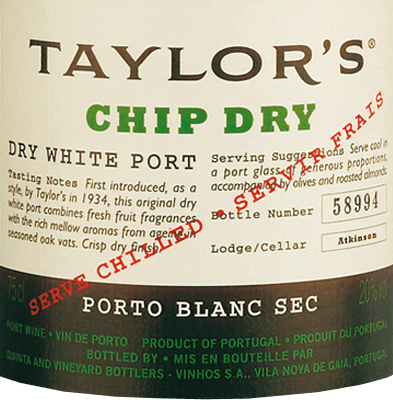 Chip Dry - Taylor's Port von Taylor's Port