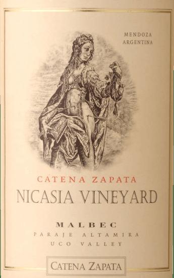 Nicasia Vineyard Malbec 2015 - Catena Zapata von Bodega Catena Zapata