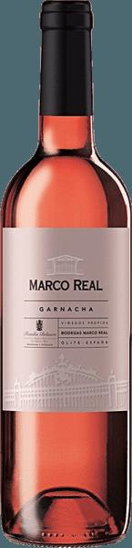 Der Rosado DO Navarra von Marco Real offenbart sich in einer einladend pinken Farbe, die an Himbeeren erinnert. Im Duft spiegeln sich die rebsortentypischen Charakteristiken wider. Ein fruchtig-frisches Aroma von Erdbeeren, Himbeeren und Zitrusfrüchten wie Zitronen und Mandarinen ist zu riechen. Im Mund eröffnet er mit einem weichen, angenehmen Mundgefühl. Der Geschmack wird von der gleichmäßigen Balance zwischen Struktur, Frucht und Säure bestimmt. Insgesamt ein runder, süffiger Rosé. Wir empfehlen ihn zu sommerlichen Speisen wie Salaten oder Gemüsegerichten sowie zu gedünstetem Fisch.