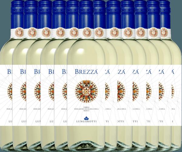 12er Vorteils-Weinpaket - Brezza Bianco Umbria 2020 - Lungarotti