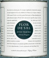 Flor de Sal mit gemahlenen schwarzen Oliven - Flor de Sal d'es Trenc