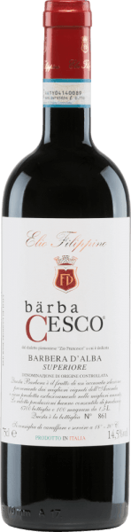 Bärba Cesco Barbera d'Alba Superiore DOC 2016 - Elio Filippino