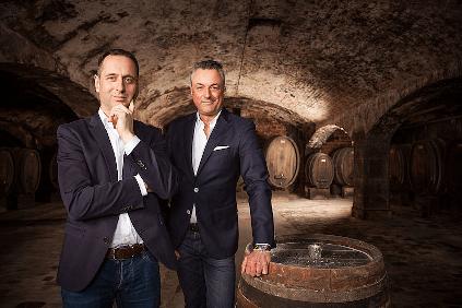 Die Inhaber Tilman Queins und Peter Bohn