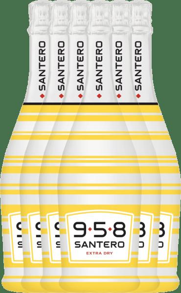 6er Vorteilspaket - 958 Classic Spumante Extra Dry - Santero
