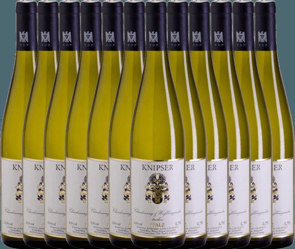 12er Vorteils-Weinpaket - Chardonnay & Weißburgunder 2020 - Knipser
