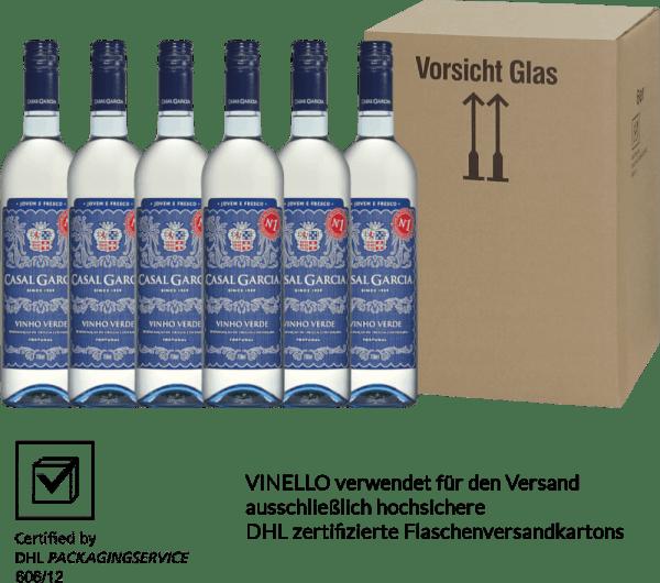 6er Vorteils-Weinpaket - Vinho Verde - Casal Garcia von Quinta da Aveleda