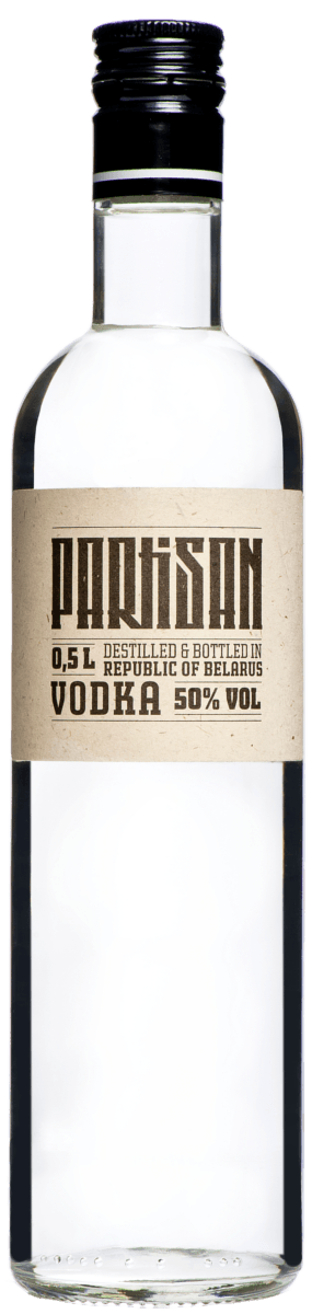 Partisan Vodka 0,5 Liter 50%