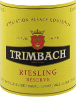 Preview: Riesling Réserve 2019 - F.E. Trimbach