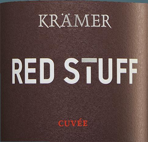 Red Stuff Cuveé trocken 2017 - Tobias Krämer von Tobias Krämer
