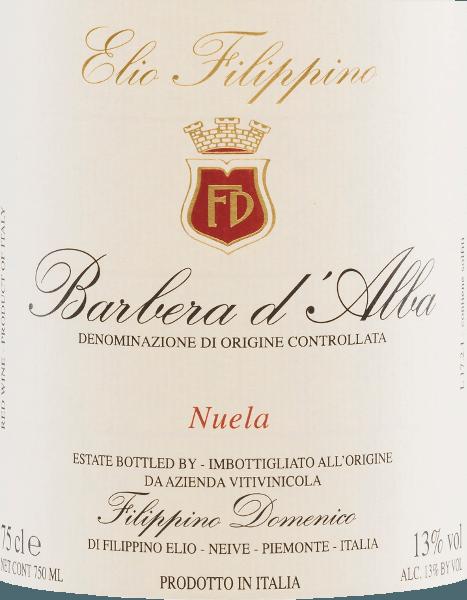 Nuela Barbera d'Alba DOC 2020 - Elio Filippino von Elio Filippino