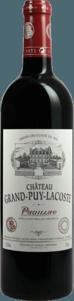 5ème Cru Classé Pauillac AOC 2017 - Château Grand Puy Lacoste