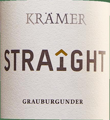 Krämer Straight Grauburgunder trocken 2019 - Tobias Krämer von Tobias Krämer