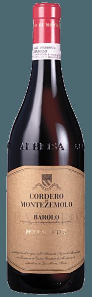 Dieser aristokratische Wein ist ein Klassiker des Weingutes Cordero di Montezemolo. Er hüllt sich in eine kräftige granatrote Robe.Eine herrliche Mischung aus fruchtig-floralen und würzigen Noten prägen das Duftprofil. Frische Himbeeren, eingelegte Kirschen, Lakritz und Kakao sind zu riechen.Ein weicher, saftiger und blumiger Geschmack mit wundervoll integrierten Tanninen breitet sich im Mund aus und sorgt für ein fülliges, reiches und elegantes Gefühl. Nach einer zweijährigen Lagerung in Eichenfässern lagert er für ein Jahr auf der Flasche ehe er in den Handel kommt. Speisenempfehlung für den Barolo DOCG Monfalletto von Cordero di Montezemolo Servieren Sie ihn zu Entenravioli, Tauben, Wild und Wildgeflügel, Hasenpfeffer, Rinderschmorbraten, Gams, Rehrücken, Windschwein. Auszeichnungen für den Barolo DOCG Monfalletto von Cordero di Montezemolo Parker Punkte - Wine Advocate: 93 Pkt. (Jg. 10) Antonio Galloni: 92 Pkt. (Jg. 10), 93 Pkt. (Jg. 11)James Suckling: 93 Pkt. (Jg. 10), 95 Pkt. (Jg. 11), 94 Pkt. (Jg. 12)Steven Tanzer: 90+ Pkt. (Jg. 10)Wine Spectator: 92 Pkt. (Jg. 10)Bibenda: 4 Trauben (Jg. 11)Wine Enthusiast: 94 Pkt. (Jg. 10)