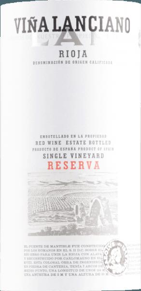 Viña Lanciano Reserva Rioja DOCa 2012 - Bodegas LAN von Bodegas LAN