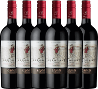 6er Vorteils-Weinpaket - Ribet Red Cabernet Sauvignon Merlot 2019 - Arrogant Frog