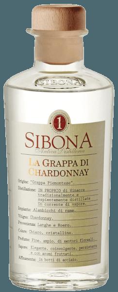 Die Grappa di Chardonnay von Antica Distilleria Sibona ist kristallklar, an der Nase entfalten sich feine, reiche blumige Duftnoten. Am Gaumen trocken, elegant und ausdruckstark mit fruchtigen Aromen , die im langen Abgang nachklingen. Herstellung der Grappa di Chardonnay von Antica Distilleria Sibona Für diese piemonteser Grappa werden Trester von Chardonnay gebrannt, die aus den Anbaugebiet des Roero und der Langhe stammen. Die so erhaltene Grappa wird in Edlestahltanks ausgebaut. Auszeichnungen Internationaler Wettbewerb Acquaviti d'Oro - Großes GoldInternationaler Spirituosenwettbewerb - SilberPremio Alambicco - Gold
