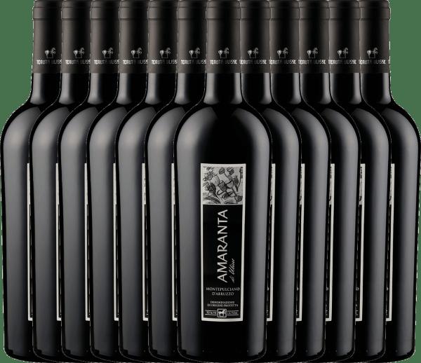 12er Vorteils-Weinpaket - AMARANTA Montepulciano d'Abruzzo DOC 2017 - Tenuta Ulisse