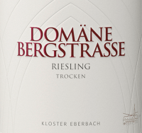 Vorschau: Riesling trocken 1,0 l 2018 - Domäne Bergstraße - Kloster Eberbach