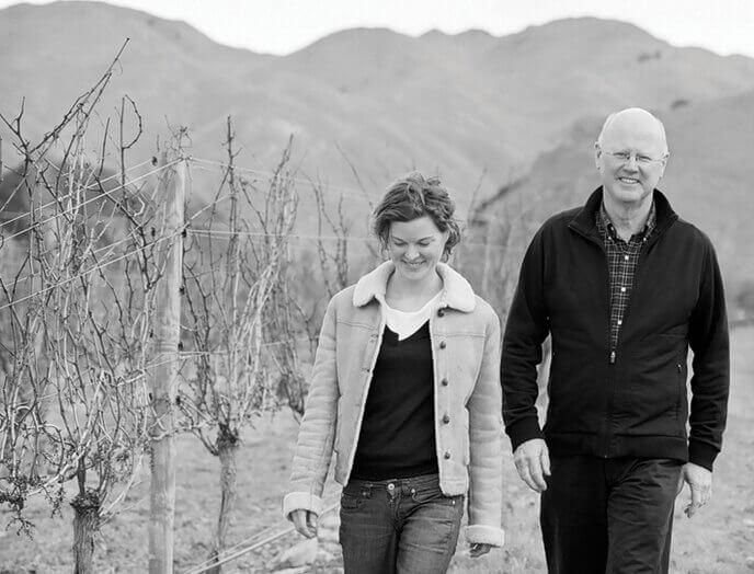 John und Amy von Mount Riley