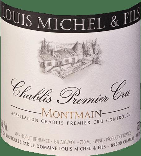 Montmain Chablis AOC Premier Cru 2017 - Domaine Louis Michel et Fils von Domaine Louis Michel & Fils