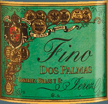 DerDos Palmas Fino von Gonzalez Byass ist ein rebsortenreiner, geschmeidiger Sherry aus dem spanischen Weinanbaugebiet DO Jerez. Im Glas besitzt dieser Wein eine leuchtende grüngoldene Farbe mit hellgoldenen Glanzlichtern. Das sortentypische Bouquet umschmeichelt die Nase mit ausdrucksvollen, intensiven Aromen nach Nüssen (besonders Haselnüsse und Mandeln), frisch gebackene Brioche und feine Eichenholzwürze. Am Gaumen überzeugt dieser Sherry mit einem würzig-nussigen Aromatik, zartem Schmelz und der charakteristischen Bitternote eines gereiften Finos. Die geschmeidige Textur umhüllt den kraftvollen Körper und begleitet in das angenehm lange Finale. Vinifikation desGonzalez Byass Dos Palmas Fino Nach der sorgsamen Lese der Palomino Fino Trauben im September, wird das Lesegut im Weinkeller von Gonzalez Byass sanft gemahlen. Bei niedrigen Temperaturen wird dieser Sherry vergoren und anschließend auf 15,5 Volumenprozent aufgespritet und in Tio-Pepe-Soleras gelegt. Für 8 Jahre reift dieser Sherry in den amerikanischen Eichenfässern und wird nach dieser Reifezeit unfiltriert und ungeschönt von Hand auf die Flasche gefüllt. Speiseempfehlung für den Dos Palmas Byass Fino Dieser trockene Sherry ist ein wundervoller Solist, der in einem kleinen Weinglas seine Aromatik toll zur Geltung bringt. Oder reichen Sie diesen Wein auch zu Kleinwild oder Fischgerichten in cremiger Sauce. Auszeichnungen für den Fino Dos Palmas Gonzalez Byass Robert M. Parker - Wine Advocate: 93 Punkte Wine Spectator: 90 Punkte (vergeben Dezember 2017)