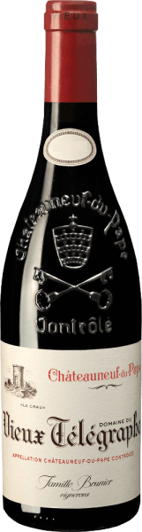 Der Châteauneuf-du-Pape Rouge gilt als das Flaggschiff der legendären Domaine du Vieux Télégraphe. Die im Durchschnitt über 50 Jahre alten Rebstöcke verhelfen dem Vieux Télégraphe Rougezu einer reichhaltigen Struktur, Kraft und Potenzial. Ins Glas kommt dieser Spitzen-Rotwein von der Rhône mit leuchtendem Rubinrot und violettem Rand. Die Nase begeistert mit viel Kirsch- und Beerenfrucht. Hinter der Frucht offenbart sich der Châteauneuf-du-Pape der Domaine du Vieux Télégraph alsrauchig, pfeffrig und würzig. Vinifikation desChâteauneuf-du-Pape Rouge Domaine du Vieux Télégraphe Die Trauben werden von Hand gelesen. Nach doppelter Selektion der Trauben, die schonend entrappt und leicht gequetscht werden, folgt über 15-20 Tage die klassische Maischegärung bei kontrollierter Temperatur im Edelstahltanks. Die ersten 9 Monate reift der Wein anschließend in Betonbottichen. Anschließend wird er zur weiteren Entwicklung 8-12 Monate in Fässer von 50-70hl Volumen umgefüllt. Erst jetzt wird der Wein unfiltriert auf die Flasche gefüllt und mit einer Reife von insgesamt 24 Monaten auf den Markt gebracht. Speiseempfehlung zum Châteauneuf-du-Pape Rouge Domaine du Vieux Télégraphe Ein muskulöser und dichter Châteauneuf-du-Pape, der hervorragend zu Kurzgebratenem vom Wildschwein mit vielen Kräutern und kräftiger Wachholdersauce, Rehpfeffer, Schnepfe oder Täubchen mit schwarzer Trüffelsauce passt.